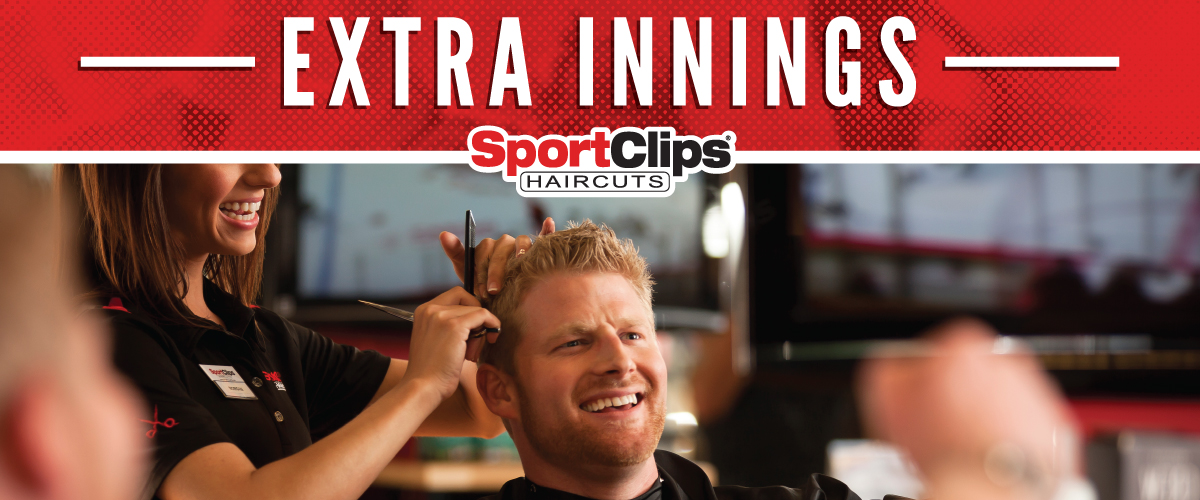 The Sport Clips Haircuts of Monaca  Extra Innings Offerings